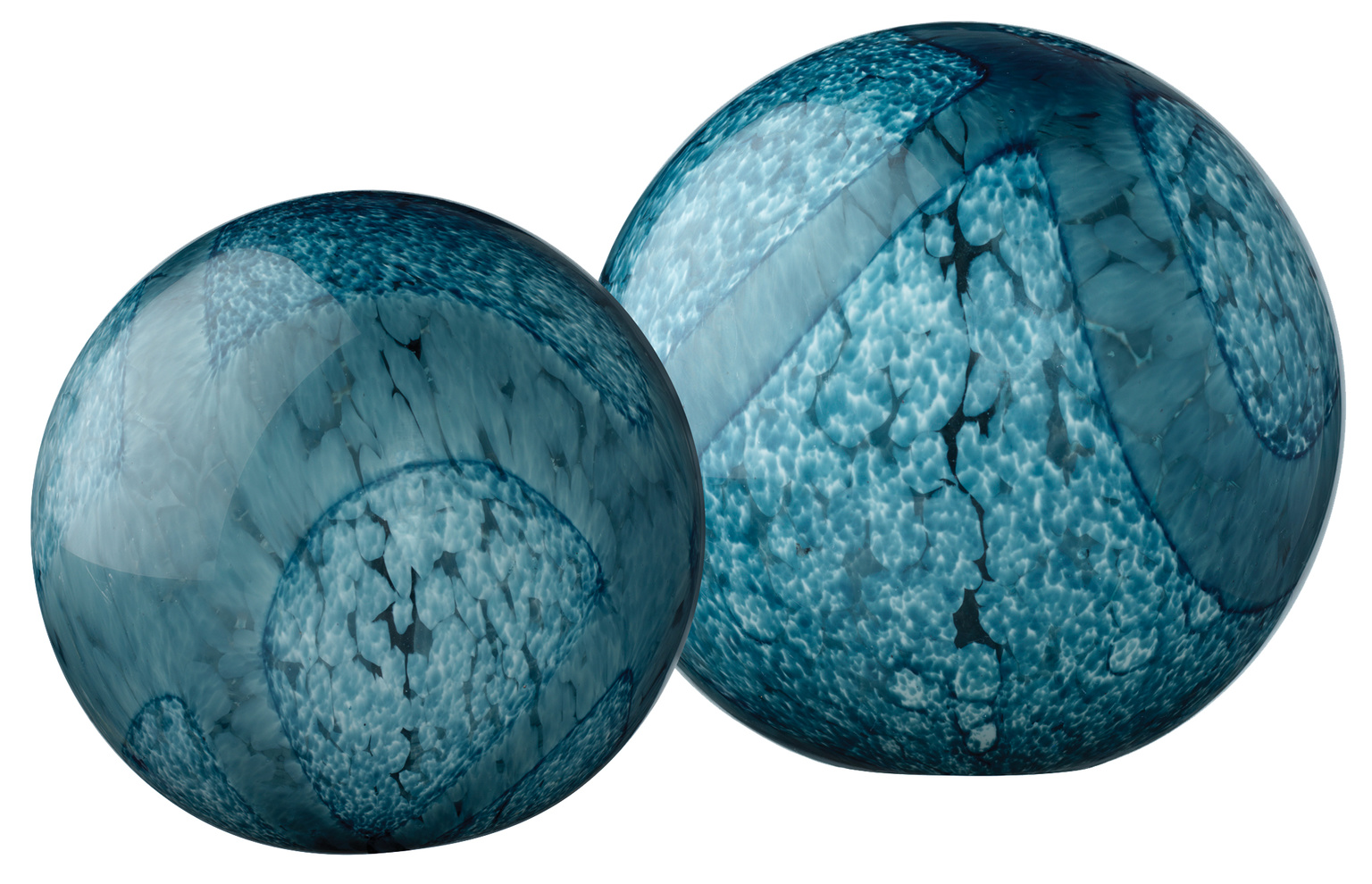 7cosm bain cosmosglassballs indigoswirlglass set%20of%202%20copy