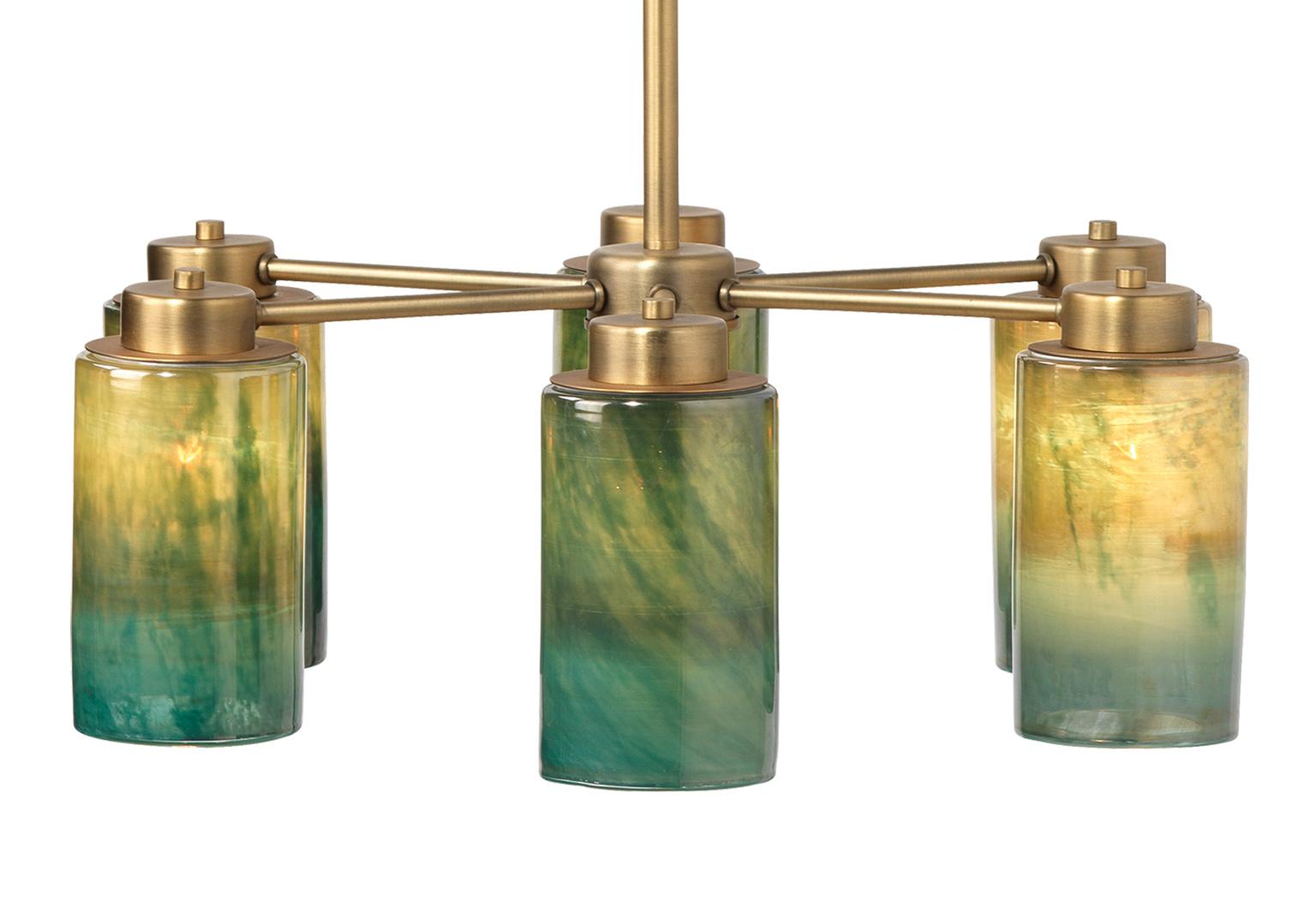 5vapo chaq 1902vaporchandelier vaporglass front lit